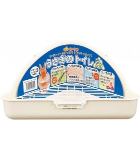 GEX Rabbit Triangle Toilet - Milky White