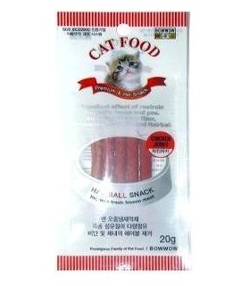 Bow Wow Chicken Hairball Snack 20g