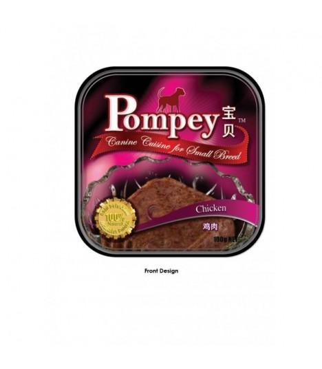 Pompey Chicken Tray Food 100g