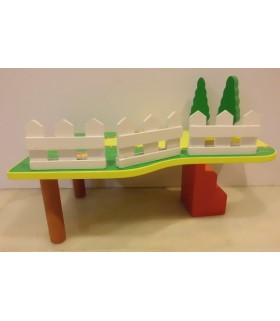AB Wooden Garden Platform + House Set