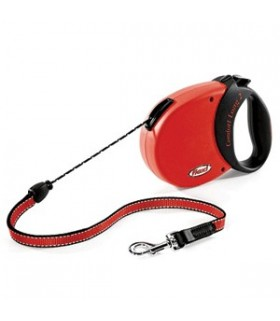 Flexi Comfort Long 2 Red/Black Cord 8m