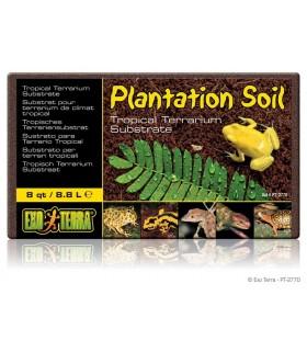 Exo Terra Plantation Soil - Brick / Tropical Terrarium Substrate 8.8L