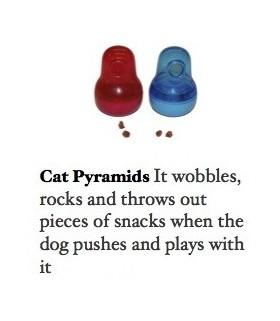 Brio Cat Pyramids Blue