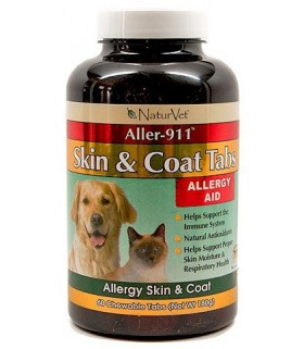 NatureVet Aller 911 Skin & Coat 60tabs