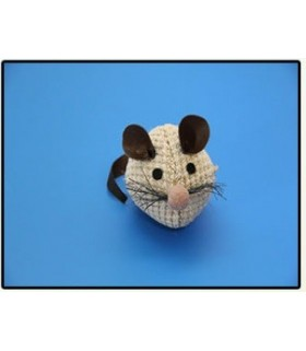 Soft cotton toy mouse