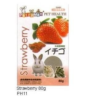 Pettyman Dried Strawberry 80g