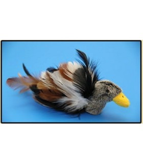 Fine feather toy duck
