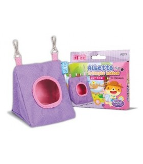 Alice Albetto Triangle Hollow For Hamster - Violet