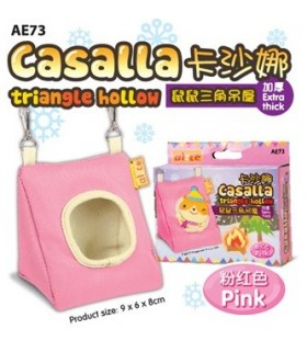 Alice Albetto Triangle Hollow For Hamster - Pink