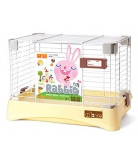 AE28 Alice Rabbio Rabbit Cage - Cream