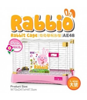 AE48 Alice Rabbio Rabbit Cage (Large) - Pink