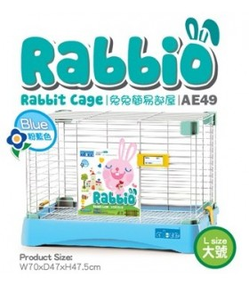 AE49 Alice Rabbio Rabbit Cage (Large) - Blue