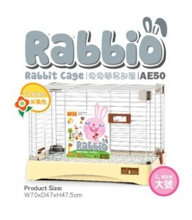 AE50 Alice Rabbio Rabbit Cage (Large) - Cream