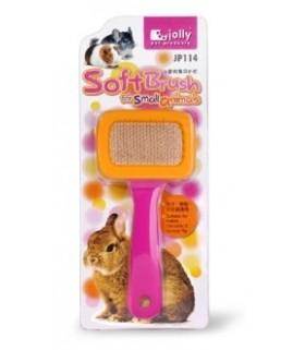 JP114 Pink/Orange Soft Brush