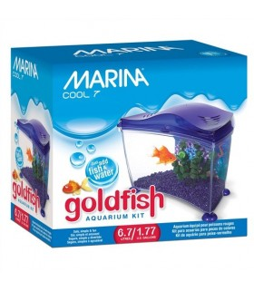 Hagen Fluval Marina Cool Goldfish Aquarium Kit 6.7L Purple