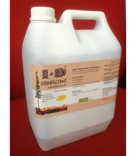 E-Bio Disinfectant Concentrate 5L