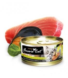 Fussie Cat Grain Free Premium Tuna with Mussels Formula in Aspic 3oz x 24cans