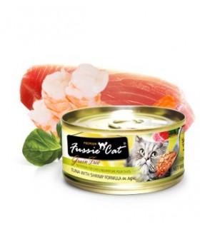 Fussie Cat Grain Free Premium Tuna with Shrimps 3oz x 24cans
