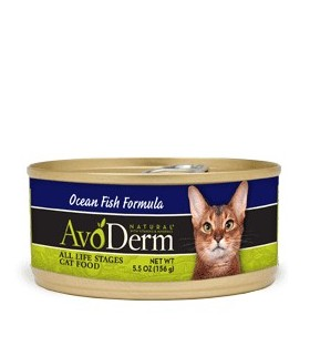 Avoderm Natural Cat Ocean Fish Canned Food 5.5oz