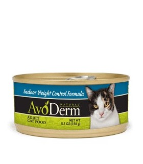 Avoderm Natural Indoor Weight Control Cat Canned Food 5.5oz