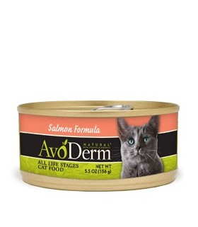 Avoderm Natural Salmon Formula Canned Food 5.5oz