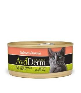 Avoderm Natural Salmon Formula Canned Food 5.5oz