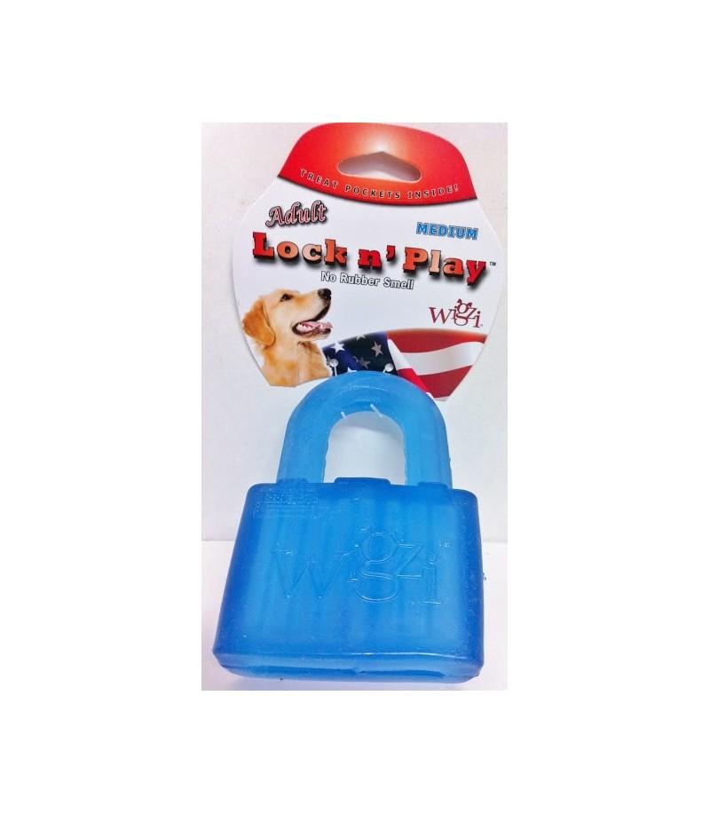 wigzi dog lock n play blue small. Black Bedroom Furniture Sets. Home Design Ideas