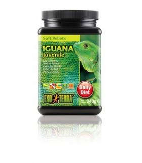 Exo Terra Juvenile Iguana Food Soft Pellets 240g