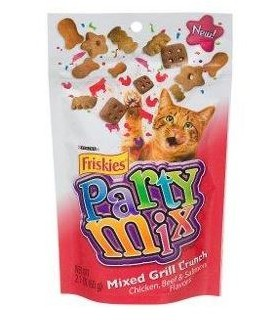 Friskies Party Mix (Mix Grill) Beef, Salmon 59.5g