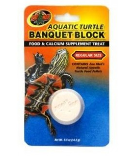 Zoo Med Aquatic Turtle Banquet Block 14.2g