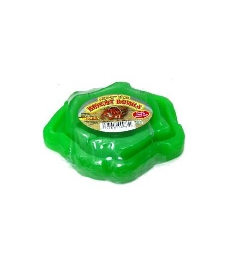Zoo Med Hermit Crab Bright Bowl - Neon Green