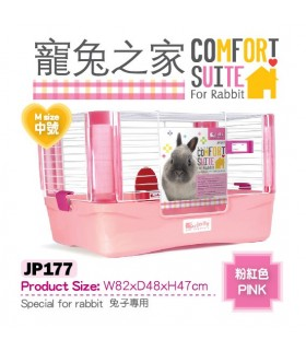 *Clearance Sale* Jolly Comfort Suit for Rabbit (Medium) - Pink