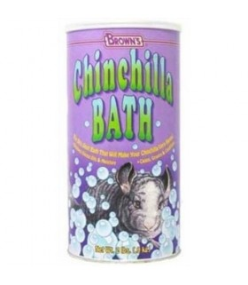 Brown's Natural Chinchilla Bath with Free Scoop 2lb