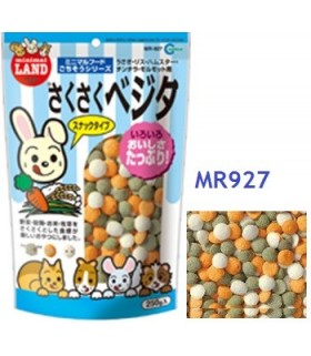 Marukan Dried Vegetable Snacks for Small Animals 250g