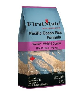 FirstMate Pacific Ocean Fish Senior/Weight Control Formula 6.6kg