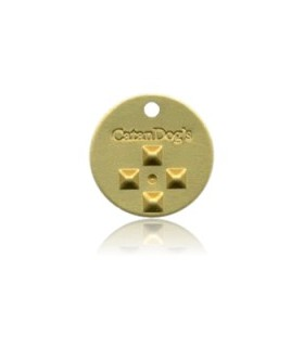 Catan Dog Metal Tag