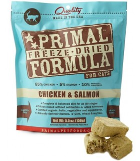Primal Feline Chicken & Salmon (Freeze Dried) 5.5oz