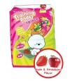 Bow Pad Strawberry & Apple Training Pee Pad (50pcs)