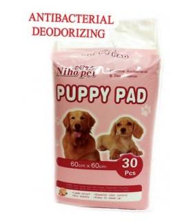 Bow Pad Antibacterial Pee Pad (30pcs)