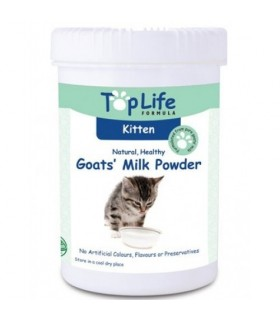 Top Life Goat Milk Powder for Kittens 200g
