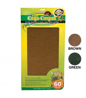 "Zoo Med Cage Carpet 12"" x 24"""