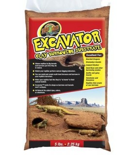 Zoo Med Excavator Clay Burrowing Substrate 4.5kg