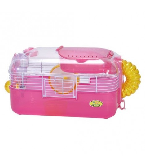 Wild Sanko Hamster Cage Pink