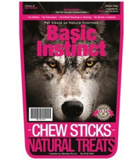 Basic Instinct Chew Sticks 200g