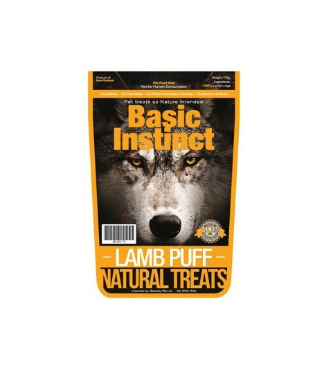 Basic Instinct Lamb Puff 170g