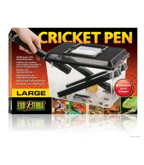 Exo Terra Cricket Pen / Holding Pen with dispensing tubes