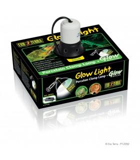 Exo Terra Porcelain Clamp Lamp + Glow Reflector Small