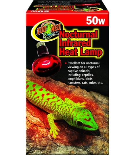 Zoo Med Nocturnal Infrared Heat Lamp 50w Moomoopets Sg