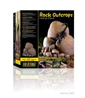 Exo Terra Rock Outcrops / Secure Hiding Cave