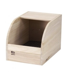 Wild Sanko Rabbit Wooden House W180xD280xH180mm